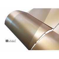 Quality 3D Aluminum Curtain Wall Panels , Anodized Aluminum Sheet Outdoor for sale