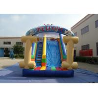 Quality Kids Bouncy Castle With Slide 8 X 4 X 4.5m , Customized Bouncy Castle Water Slide for sale