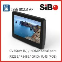 Quality SIBO Wall Mounted Tablet PC with Power over Ethernet for sale