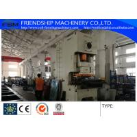 Buy cheap Automatic 300 Mm - 800 Mm Width Cable Tray Roll Forming Machines With 300 Ton from wholesalers