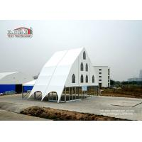 Quality Outdoor Church Tent For 100 - 10000 People Capacity Clear Span Aluminum Frame for sale
