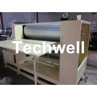 Quality 3.8 Ton MDF / Wood Embossing Machine with Up-Down Roll Heating Device for sale