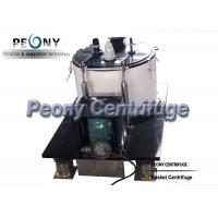 China ISO Food Grade SS Basket Centrifuge for Cannabis Wash and Ethanol Separation on sale