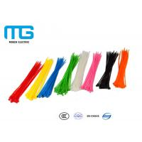 Quality High quality Self-Locking Nylon Cable Ties With CE, UL Certification for sale