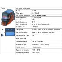 Quality CE ANSI Auto darkening welding helmet/welding mask with Grinding function for sale