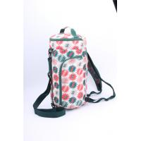 Quality Wholesale Price Large capacity overnight bag with beautiful flower printing for sale
