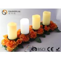 Quality Battery Operated Advent Candles , Flameless Candles With Remote for sale
