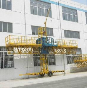 China Single Mast Climbing Working Platform on sale