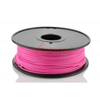 Quality 3mm 1.75mm 3D Printer ABS Filament for 3D Printer Pink , RoHs SGS for sale