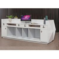 China Wood Retail Cash Register Counters For Garment Store / Convenience Store for sale