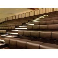 Buy cheap Long Lasting Durability Retractable Bleacher Seating Powder Coating For Indoor from wholesalers