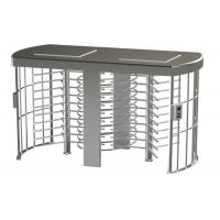 Buy Double Sides Solenoid Locking Mechanism Full Height Turnstile Semi auto Rotating at wholesale prices