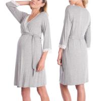 Quality Cute Printing Comfortable Womens Maternity Dresses Plus Size Maternity Wear for sale
