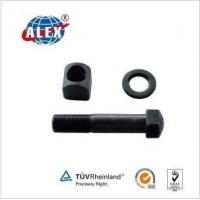 Quality Fish Plate Bolt&Nut&Washer for sale