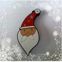 China Santa Claus shape 2GB, 4GB, 8GB customized usb flash drive with high quality (MY-UPV01) for sale