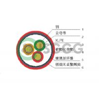China insulated fireproof cable for sale