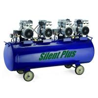 Quality 4.0 hp Low-noise oilless Piston air compressor SP-3000/180 for sale