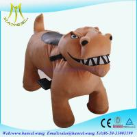 Quality Hansel high qulity battery operated plush motorized animal kids ride for sale