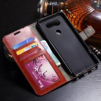 Quality Shock Resistant LG V20 Wallet Case Slim Fit Synthetic PU With Card Slot Function for sale