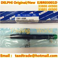 Quality DELPHI Original, New Injector EJBR03001D/ 33800-4X900/ 33801-4X900/ EJBR02501Z KIA HYUNDAI for sale