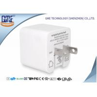 Quality White Single Port Foldable US PIN Usb Travel Adaptor 5V 2.4A High Efficiency for sale