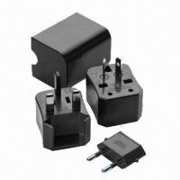 Quality Newest All-in-one Travel Plug Adapter for Cellphones/GPS/iPad, with Spare Fuse  for sale
