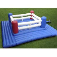 Quality Super Inflatable Sport Games Kids Inflatable Boxing Ring With Suit For Fun for sale