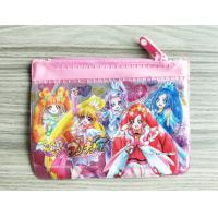 Buy cheap Cute Girl Reusable Ziplock Bags / Offset Printing PVC Pencil Case from wholesalers