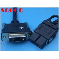 Black Color Telecom Cable Assemblies Connector Cables For Multi Mode Radio Frequency Unit for sale