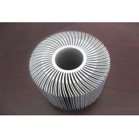 Quality Silver Anodized Aluminum Etrusion Profiles use for Alumiunm Heat Sink for sale