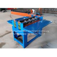 Quality Professional Electric Simple Color Steel Metal Sheet Coil Slitting Machine 2 Years Warranty for sale