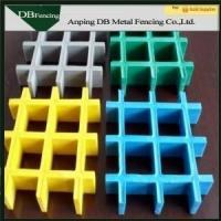 Quality FRP Fiberglass Reinforced Plastic Grating For Stair Treads / Walkways / Drainage Cover for sale