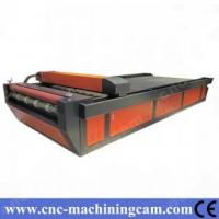 Quality ZK-1640-100W Roller-Roller Textile Fabric Laser Cutting Machine for sale