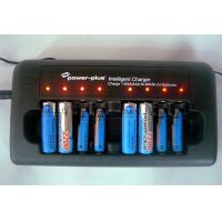 Quality DC 12V/1A  8 slots nimh/nicd rechargeable batteries charger BC-1029 for sale