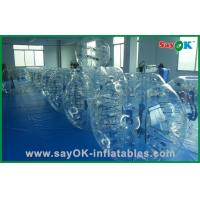 Quality Funny Inflatable Sports Games Transparent Inflatable Walk Zorb Ball for sale