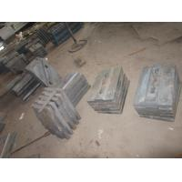 Quality BBD4060 Coal Mill Liners BTMCr26 More Than HRC58 Dimensional Check , Hardness Check for sale