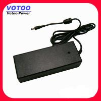 Quality 60W 24V 5A Desktop Switching Power Supply For LED Strip / CCTV , 50 - 60Hz for sale
