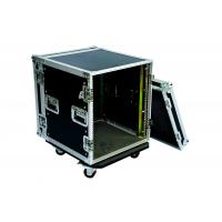Quality 22U Amp Rack Case With 9mm Plywood , Fireproof Rack Server Case Size Customized for sale
