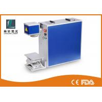 China Lamp Bulb Metal Laser Engraver , 200 * 200MM Marking Area Laser Engraving Equipment on sale