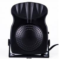 Quality 150w Small Portable Car Heaters Black Fan Heater With Cool Warm Switch for sale