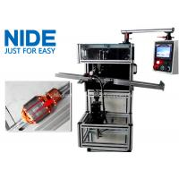 Buy Automatic motor armature rotor slot insulation wedge inserting machine at wholesale prices