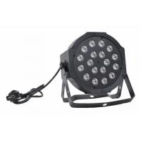 Quality LED PAR Light 18X1w RGB Plastic LED PAR Can for sale