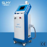 Quality Blue Beauty Equipment for Salon Skin Care Removing Hair Acne Scar with Opt IPL Shr for sale