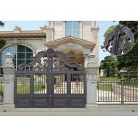 Buy Villa Aluminum Electric Garden Door Opening Type With Remote Control Motor Shaft at wholesale prices