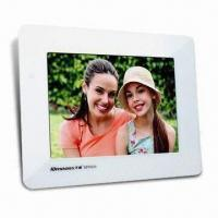 Quality Digital Photo Frame with 256MB Flash Memory and 8-inch LCD for sale
