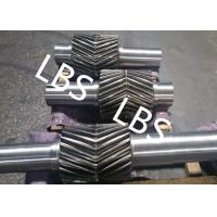 Quality Carbon Steel Forging Helical Gear Wheel With Double Helical Teeth for sale
