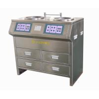 Quality Stainless Steel Cabinet Style Grinding Polishing Machine with Stepless Speed for sale