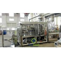 Buy cheap Bottle Liquid Hot Filling Machine High precision For Fresh Orange Juice from wholesalers