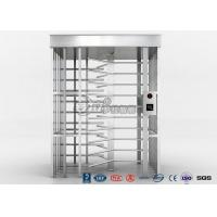 China Single Channel Full High Turnstile / High Security Turnstile with 304 Stainless Steel Housing on sale