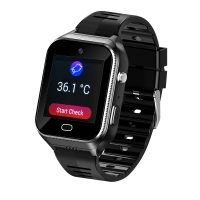 Quality Elderly People smart watch With SIM Android OS 4G GPS tracking SOS GEO heart rates monitor, temperature monitor for sale